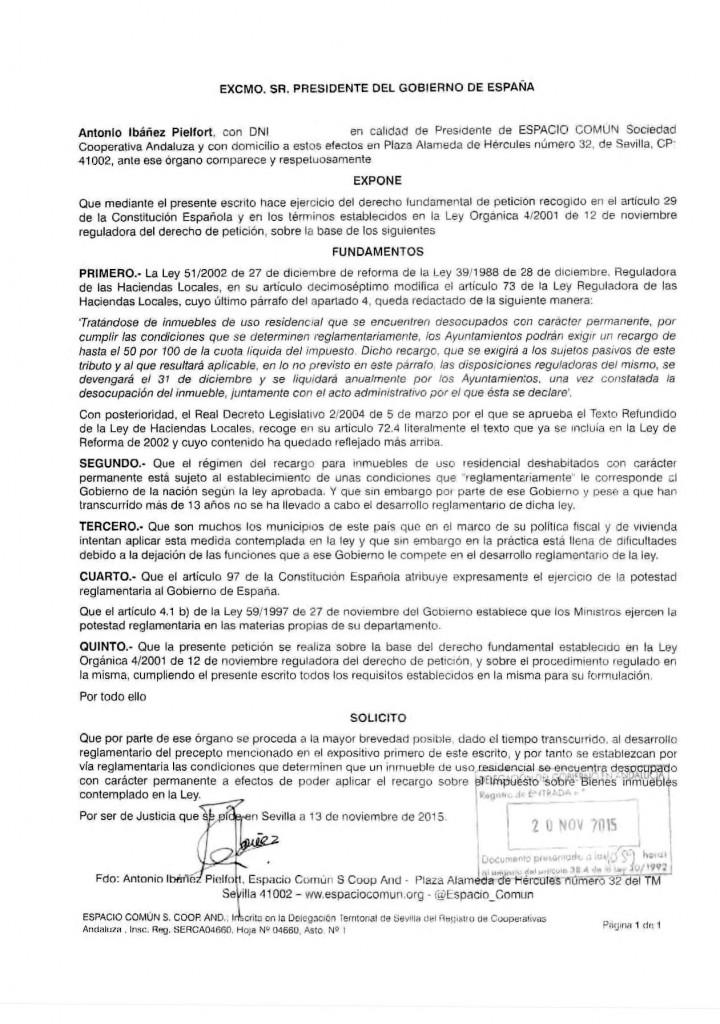 151124 PRESIDENTE DEL GOBIERNO